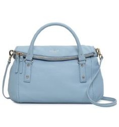Kate Spade Small Leslie  <3 Perfect Light-Periwinkle