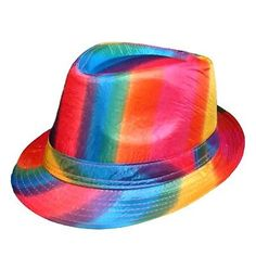 Other Wholesale Lots 14879  Gay Pride Wholesale Rainbow Fedora Wholesale Lot  Of 12 -  f20d89b57f7e