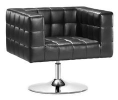 ZUO Modern Cubo Office Chair $577.99  Black or White color options  www.modernchairsdirect.com