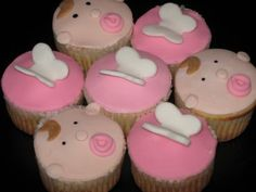 cute for a baby shower 25 Beautiful Baby Girl Shower Cupcakes Baby Cupcake, Baby Shower Cupcakes For Girls, Cupcake Party, Baby Shower Parties, Cupcake Cakes, Baby Cakes, Cupcake Ideas, Diaper Cakes, Baby Showers