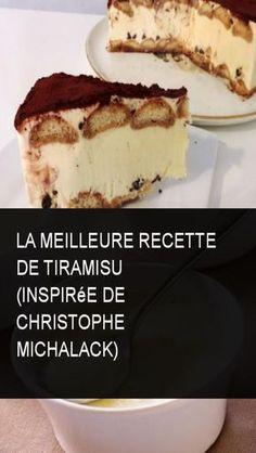 The best tiramisu recipe (inspired by Christophe Michalack) Source by Chefs, Mascarpone Cake, Mousse, Thermomix Desserts, Food Trends, Pavlova, Just Desserts, Gluten Free Recipes, Caramel