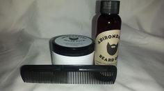 2oz Adirondacks Beard Oil + 2oz Balm + Comb - Natural Organic #Adirondacksbeardoil
