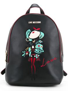 LOVE MOSCHINO Top Handle Medium Backpack