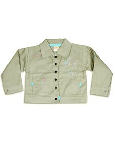 GIRLS Twill Embroidered Jacket http://www.tradeguide24.com/3919___GIRLS_Twill_Embroidered_Jacket_NEW_12pcs__89010___  #jacket #fashion #stocklot #wholesale