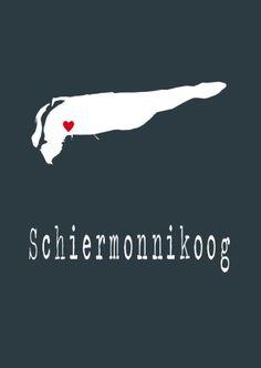 6-05 Schiermonnikoog hartje Vintage Travel Posters, Day Trips, Netherlands, Holland, Dubai, Strand, City, School, Beach