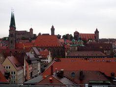 Nürnberg. Die Burg über der Altstadt.