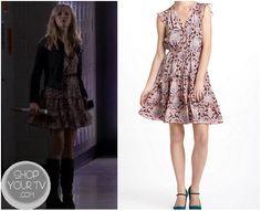 Shop Your Tv: The Vampire Diaries: Season 4 Episode 10 Caroline's Pink Ruffle Dress