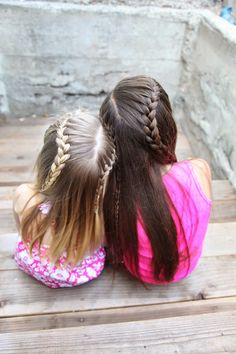 25 little girl hairstylesyou can do yourself get out of your 25 little girl hairstylesyou can do yourself get out of your hairstyle rut and do something a little more fun via make it and love it hair solutioingenieria Image collections