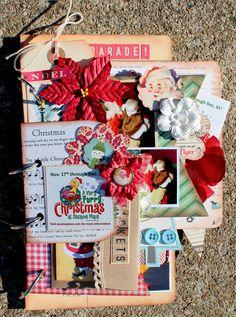 Christmas Mini Album - Scrapbook.com