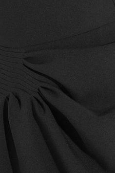 J.W.Anderson - One-shoulder Draped Crepe Dress - Black - UK