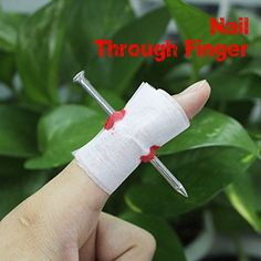 ACE Manmade Nail Through Finger Fool Trick Toy >>> You can find more details by visiting the image link. (This is an affiliate link) #NailArtAccessories