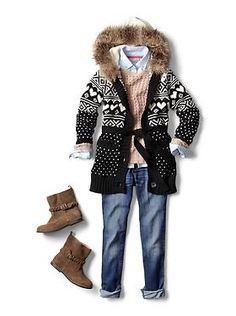 Kids Clothing: Girls Clothing: Featured Outfits Sweaters | Gap