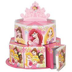Disney's Princess Favor Box Centerpiece