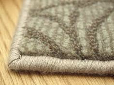 Binding or serging? What's the difference when it comes to finishing or repairing your area rug?