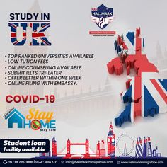 Enroll your name in the top universities of the UK with the guidance of Hallmark immigration consultants. Top Universities, Ielts, Student Loans, Chandigarh, Counseling, United Kingdom, University, Study, Education