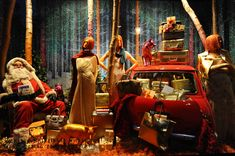 Selfridges' window display