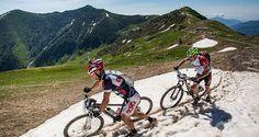 Nove giorni, otto tappe, 500 km e 19.000 metri di dislivello. E' lo spettacolare tracciato dell'Alta Via Stage Race che ripercorre abbastanza fedelmente l'itinerario dell'Alta Via dei Monti Liguri, con partenza da Bolano (SP) e arrivo ad Airole (IM).  Ecco info su percorso e le varie formule per partecipare  http://www.mondociclismo.com/mtb-alta-via-stage-race-dal-12-al-20-giugno-programma-e-info-iscrizioni20150505.htm  #Liguria #Mtb #ciclismo #mondociclismo #AltaViaStageRace