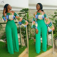 African fashion is available in a wide range of style and design. Whether it is men African fashion or women African fashion, you will notice. African Print Dresses, African Print Fashion, Africa Fashion, African Fashion Dresses, African Dress, Fashion Prints, Fashion Design, Fashion Styles, African Print Pants