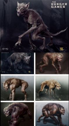 More concept art of the muttations, by Ian Joyner