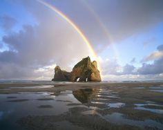 Rainbow. New Zealand