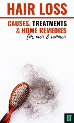 For men and women hair loss can be a big of a deal problem. Check what causes hair loss, natural treatments and home remedies and how to change your diet to stop hair loss and that can be caused by stress or other cause. #hairloss #hairlosstreatments #hairlossremedies #stophairloss #NormalHairLoss Normal Hair Loss, Why Hair Loss, What Causes Hair Loss, Oil For Hair Loss, Stop Hair Loss, Hair Loss Women, Prevent Hair Loss, Men Hair, Home Remedies For Hair