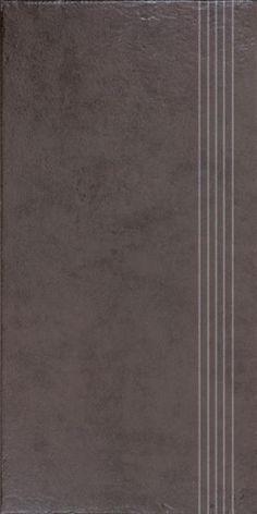 Zalakerámia Clay DCPSE641 barna 29,8x59,8 cm lépcsőlap