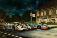 The Magic Motorsport Art of Michael Mate - Motorsport Retro
