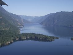 Float plane or ferry ride, your short journey to the retreat is sure to give you amazing views of inlets, straits and islands. Float Plane, Sunshine Coast, Islands, Journey, Peace, River, Amazing, Outdoor, Beautiful