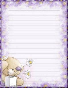Made by Sophia Delve Design Free Printable Stationery, Printable Paper, Lined Writing Paper, Notebook Paper, Borders For Paper, Journal Paper, Stationery Paper, Planner Pages, Note Paper