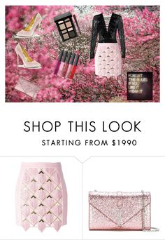 """Wear it"" by loadsagifts ❤ liked on Polyvore featuring Balmain, Yves Saint Laurent and Bobbi Brown Cosmetics"
