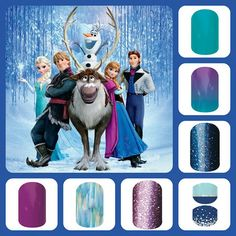 I LOVE these Disney Jamberry nails. Follow the photo link to order them!  MooreJams4You.jamberrynails.net