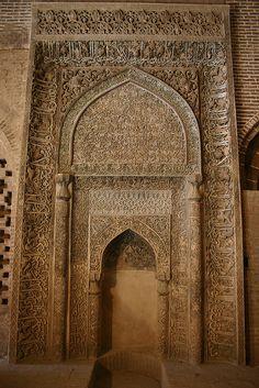 Jameh Mosque, Esfahan, Iran by Mike Gadd, via Flickr