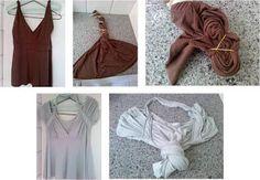 Atitude na Teia: Uma ideia para remodelar roupas não usadas...