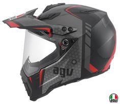 AX-8 Dual EVO Black/Silver/Red