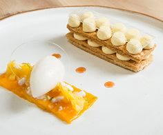 Masterclass: Millefeuille of exotic fruit by Kenneth Culhane