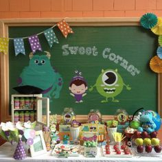 Monsters Inc. and Tons of Party Theme Ideas @ Partyz.co ! Join free today and start searching, saving and sharing party ideas from the most incredible industry professionals!