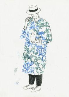 SYLVIE BELLO illustration dessin