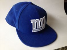 NEW ERA 59fifty HAT CAP FITTED NEW YORK GIANTS NFL BLUE WHITE SIZE 7 1/4 super #NewEra59fifty #NewYorkGiants