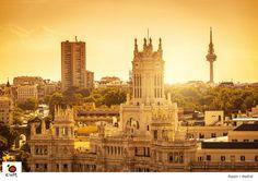 If you already think Spain is beautiful, imagine when the sun goes down...MADRID sI España ya es preciosa, imagínatela atardeciendo....MADRID #spain pic.twitter.com/OImpXavrGx