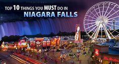 niagara falls canada what to do   Top 10 Things To Do In Niagara Falls This Season   Nightmares Fear ...