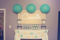 """Photo 1 of Baby Shower/Sip & See """"Baby Camille"""" Baby Shower Verde, Baby Shower Fun, Baby Shower Favors, Baby Shower Cakes, Shower Party, Baby Shower Parties, Baby Shower Themes, Bridal Shower, Shower Ideas"""