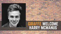 Welcome to the Giraffe Social Media team, Harry McManus!