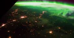 «Μαγικό» βίντεο δείχνει το Βόρειο Σέλας από το… διάστημα