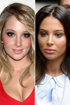 Dramatic Celebrity Makeovers