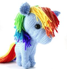 Spark's Pony Pattern by Kai Mayfield.