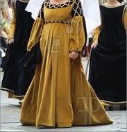 Picture of il palio di asti , revival parade woman dress 7th century