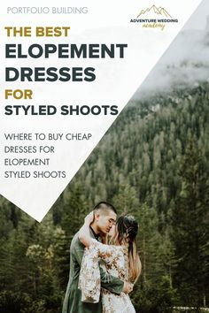 Where to get cheap dresses for elopement styled shoots to build your elopement photography portfolio. Photography Portfolio, Photography Business, Cheap Wedding Dress, Wedding Dresses, Elopement Dress, Good And Cheap, Cheap Dresses, Dress For You, Adventure
