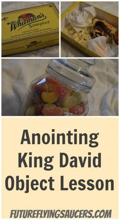God cares about the heart. In this Anointing King David object lesson, children learn that God sees their hearts and they decide what they want Him to see. ~ futureflyingsaucers.com