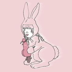 Naughty erotic bunny girl art print by Sas and Yosh Bunny Rabbits, Cool Walls, Wall Wallpaper, Art Girl, Wall Stickers, Tart, Erotic, Stationery, Art Prints