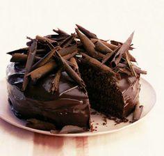 Ultimate chocolate cake - think Matilda's Bruce whoop whoop